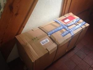 Das heißersehnte Paket